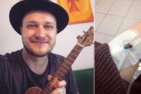 Písničkář Voxel (28) si prošel peklem: Série vyšetření a hlava jako centrifuga!