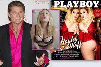 Dcera (28) Davida Hasselhoffa (68) nahá v magazínu Playboy: Kvůli křivkám ji šikanovali!