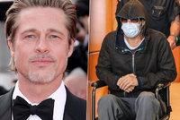 Brad Pitt je v nemocnici: Bezmocný herec skončil na vozíčku!
