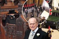 Sledovali jsme ONLINE: Pohřeb prince Philipa (†99): Rakev na autě, opuštěná královna a porušený zákaz