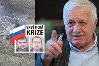 Exprezident Klaus zaryl do vlády kvůli Vrběticím: Chtějí držet lidi ve strachu, covid nezabírá