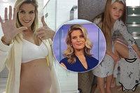 Iveta Vítová odhalila bříško v 6. měsíci! Propálila omylem snad i pohlaví miminka?