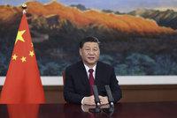 """""""Svět chce spravedlnost,"""" prohlásil čínský prezident. A slíbil pomoc v boji s pandemií"""