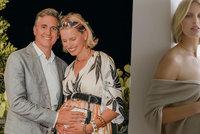 Potřetí těhotná topmodelka Karolína Kurková (37): Poslední (a opět nahé) foto před porodem!