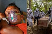 Indové nestačí pálit mrtvé, beznaděj se prohlubuje.Proč je to problém pro celý svět?