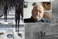 Učitel ušlapaný davem, bomby padající na Prahu: Hrůzné zážitky sochaře Zoubka. Letos by oslavil 95 let