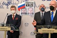 Senát chce na ruské ambasádě jen velvyslance. Navrhuje vypovědět smlouvu o přátelství