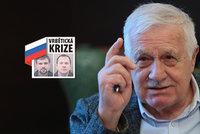Klaus: Česko štěká jako ratlík, načasování Vrbětic není náhoda a Kulhánek je kdo?