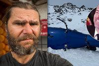 David Horváth přežil pád Kellnerovy helikoptéry na Aljašce: Narodil se mu syn!