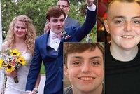 Mladý plavec (†19) se oženil s láskou ze střední:  Za půl roku ho přemohla rakovina