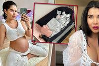 Pornoherečka Lady Dee před porodem ukázala pokojíček pro dcerku: Luxus nečekejte!