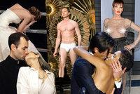 Nejdivočejší momenty z Oscarů: Incest, nahota, omyl s vítězem a drsný pád na schodech!
