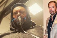 Ital Emanuele Ridi (47) po covidu s kyslíkovou maskou: Cítím se ani ne na 50 procent!