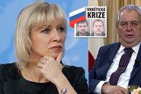 Zeman slovy o Vrběticích potěšil Rusy: Češi couvají, nemají skutečné důkazy