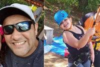 Rodinná tragédie na výletě k vodopádům: Andrea, její dcerka i švagr se utopili!