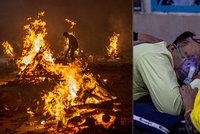 Indická apokalypsa: Lidé umírají bez kyslíku, Evropa chystá zákaz cestování i pomoc