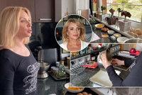 Krásná Zdena Studenková odhalila své království: V luxusní kuchyni nově natáčí videa