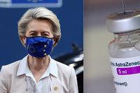 Brusel má po krk zpožďování dodávek vakcín AstraZeneca. Evropská komise žaluje výrobce