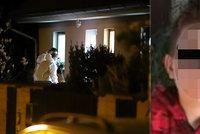 Horor v Dolních Chabrech: Chlapec (14) v domě pobodal ženu a jejího syna a utekl?!