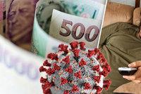Izolačka se prodlouží do konce června. Bonus 370 korun denně čeká už jen na podpis Zemana