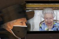 Británie se raduje díky Alžbětě (95): Královna se už zase usmívá! Poprvé od smrti manžela