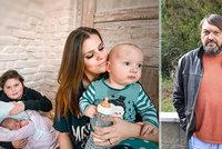 Ornella Koktová po komplikacích po porodu stále v nemocnici: Kokta je sám na tři děti!