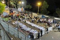Tlačenice po oslavách v Izraeli si vyžádala 45 mrtvých: Lidé umírali udušení nebo ušlapaní