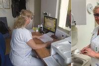 Sestřička Eva na dvou frontách: V týdnu slouží v ordinaci, o víkendech pomáhá na lince pro zdravotníky
