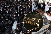 """V davu Izraelců byly ušlapané i děti: Úřady před katastrofou varovaly roky? A """"smrtelná past"""""""