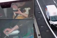 """Kokainová pauza na dálnici D7: Řidič zastavil na odpočívadle, dal si """"lajnu"""" a odfrčel pryč!"""