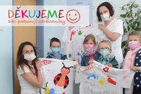 Děti přišly poděkovat do jihlavské nemocnice! Mami a tati, jsme na vás hrdí!