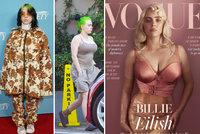 """""""Neforemná"""" Billie Eilish šokuje: V sexy korzetu předvedla vosí pas a dmoucí ňadra!"""