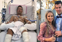Museli mu vyříznout jazyk, boj s rakovinou tím ale nekončí: Naději vkládá do převratné léčby a podpory nejbližších