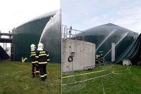 Tři ranění po exlozi bioplynu v Dětřichově: Výbuch zažehla jiskra statické elektřiny, vědí už hasiči!