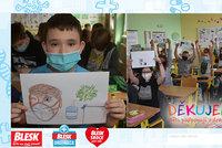 Některé děti se za prodělaný covid stydí, přiznala učitelka! A obrázky pro záchranáře!