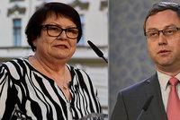 Benešové Zemanův odchod nestačí. Ministryně podala na exšéfa žalobců kárnou žalobu