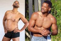 Will Smith (52) překvapil proměnou: Z vysekaného tvrďáka je taťka s pupkem!