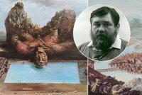 Prahu zahalil do oblak z jedovatých par a dýmů: Malíř Jan Souček (†66) by oslavil 80 let