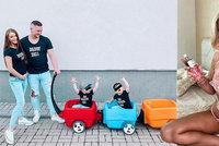 Sexbomba Dominika Myslivcová se raduje z těhotenství! Děti budou brzy tři