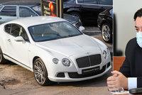 """Kočnerovo luxusní Bentley jede do dražby! Odsouzený podnikatel tak o svoji """"hračku"""" definitivně přijde"""