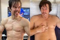 Pověstný svalovec Mark Wahlberg kyne: Za tři týdny přibral 14 kilo!