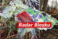 V pátek přijde vichr, v sobotu ranní mrazy. Pozor na lámání stromů a sledujte radar Blesku