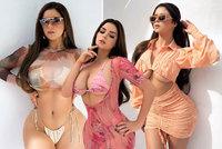 Prsatá Demi Rose hlásí comeback: Fanouškům odkryla záhyby svého lepého těla!