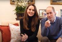 Influenceři z paláce: Kate a William si založili Youtube kanál, první video vidělo miliony lidí!