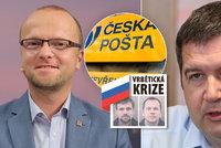 Hamáčkova rychlá pomsta: Netolický přišel o místo v České poště, šéf ČSSD mu nezvedá ani mobil