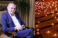 Koronavirus ONLINE: Velká pieta na Hradě. U Zemana se rozhoří 30 tisíc svíček za oběti covidu