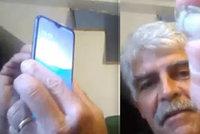 Muž (56) při nehodě přišel o prst: Teď ho využívá k odemykání svého mobilu!