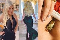 Donna z Beverly Hills šokovala tělem: Božské křivky a ptáček lapený mezi prsy!