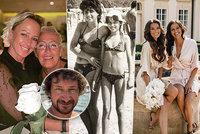 Celebrity slaví Den matek: Dojatá Bagárová, vzpomínka Krainové, urážlivé přání Vignerové či zdrcený Křížek usvědčený z podvodů