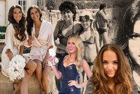 Vondráčková, Krainová i Švantnerová ukázaly své krásné maminky: Sexy hippie i retro v bikinách!